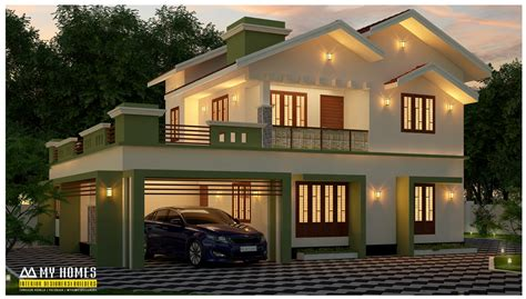 modern home design on a budget 28 mid budget house plan kerala simple budget house