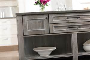 gray wood cabinets weathered gray kitchen cabinetry finishes both painted