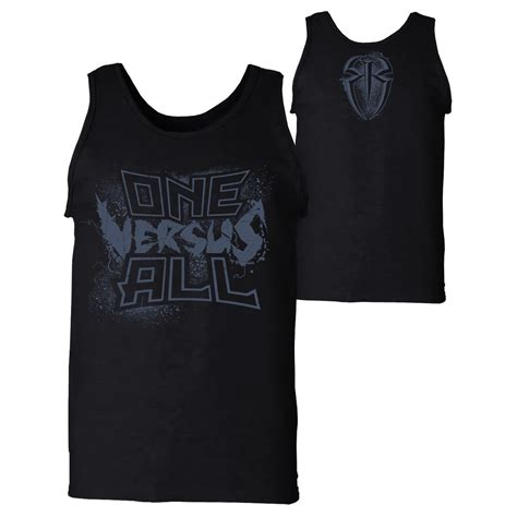 Seth Rollins Vs Finn Balor Limited Edition Tees Njpw Ufc reigns quot one versus all quot tank top