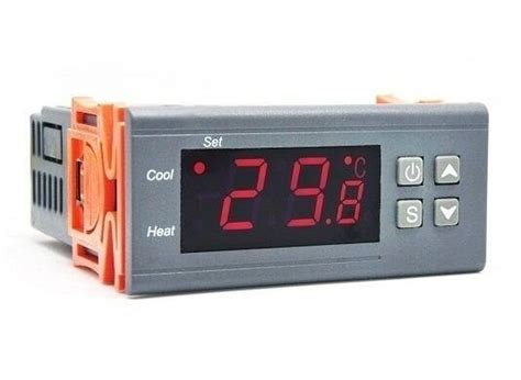 Jual Thermometer Controller jual a 2 relay ac 220v digital thermostat thermometer