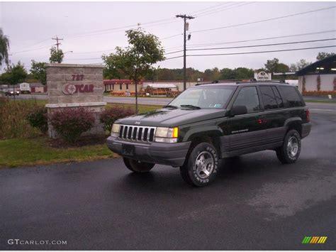 1997 moss green pearl jeep grand laredo 4x4 19218476 gtcarlot car color galleries