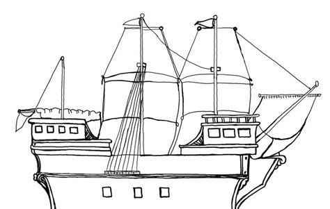 mayflower coloring page free mayflower coloring pages coloring home