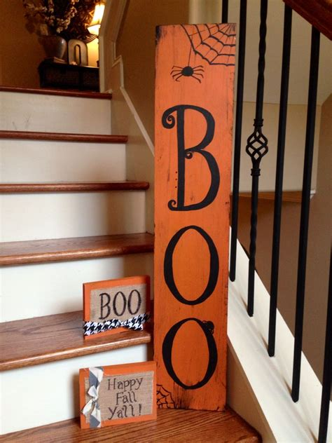 halloween wood art   verdant market pinterest