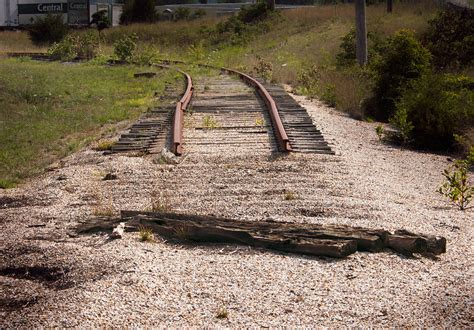 coming to the end of the line photograph end of the line photograph by grant groberg