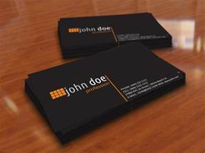 black business card template simple black personal business card template by