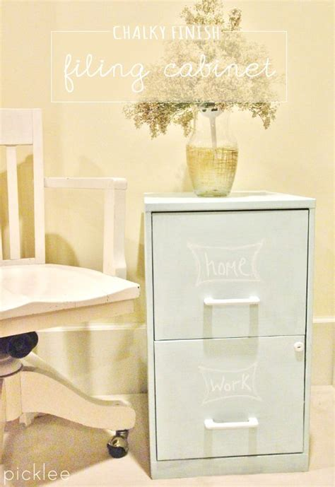 painting metal cabinets thriftyfun how to use chalk paint on a ugly metal filing cabinet
