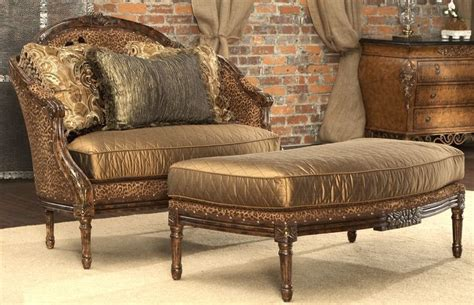 animal print furniture home decor leopard print settee luxury fine home furnishings and