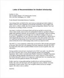 sample letter of recommendation for scholarship 30