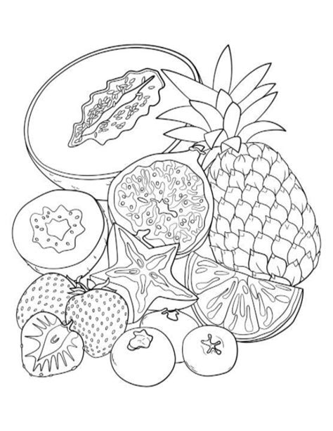 coloring pages for adults vegetables 145 best coloring fruit vegetable images on pinterest