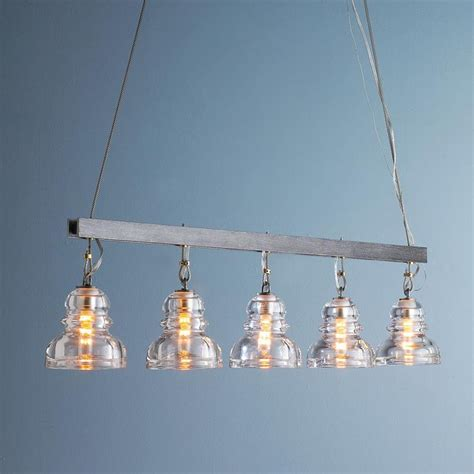 Glass Insulator Chandelier reproduction insulator glass island chandelier