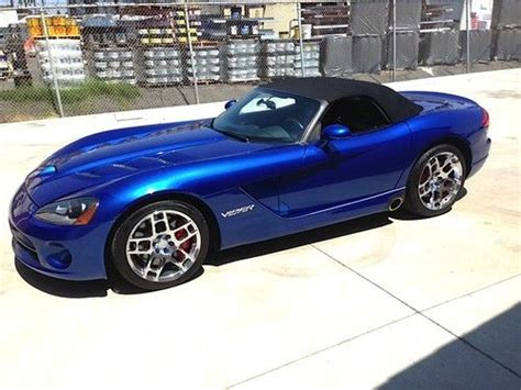 how does cars work 2008 dodge viper lane departure warning purchase used 2008 dodge viper srt 10 convertible 2 door 8 4l in national city california