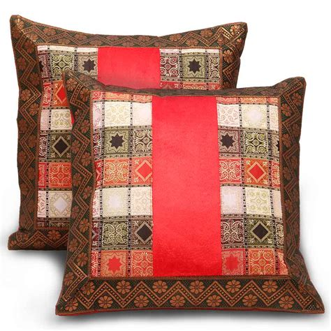design cover set buy sanganeri traditional design 2pc cushion cover set online