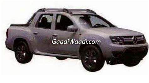 renault pickup truck renault duster oroch pickup truck india launch price