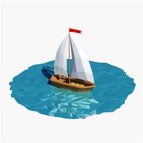 a boat cartoon 3d boat cartoon
