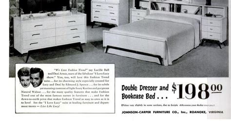i love lucy bedroom set old ads are funny 1953 ad live like lucy