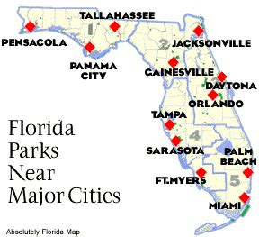 map of florida with cities listed florida state map cities deboomfotografie