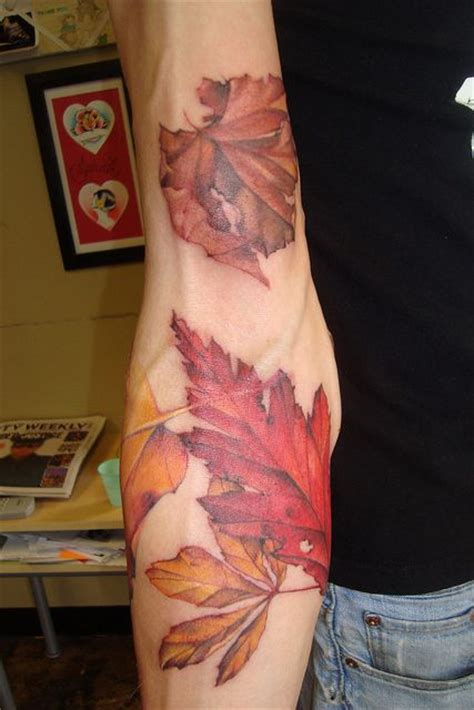 tattoo on arm leaves 1000 images about fall foliage on pinterest autumn