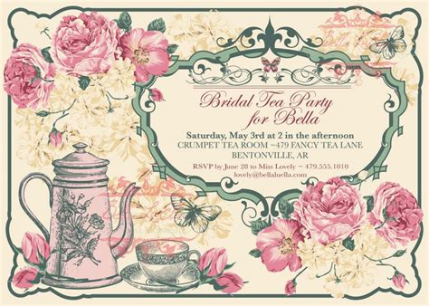 Permalink to Vintage Party Invitation Templates