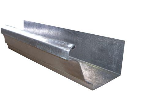 K Style Galvanized Gutters - top 28 metal gutter radius gutters k style half