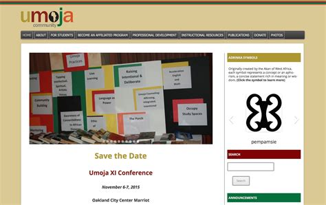 umoja website design home page jason t cbell