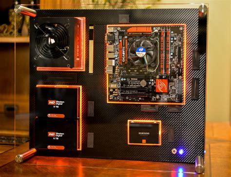 computer desk on wall build 4 wall mount computer media server