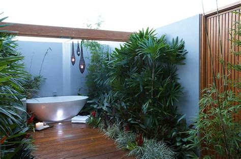 garden bathroom ideas tropical garden bathroom interior design ideas