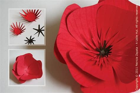 How To Make Paper Poppy Flowers - great paper poppies flowers paper