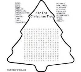 free coloring pages of xmas wordsearch