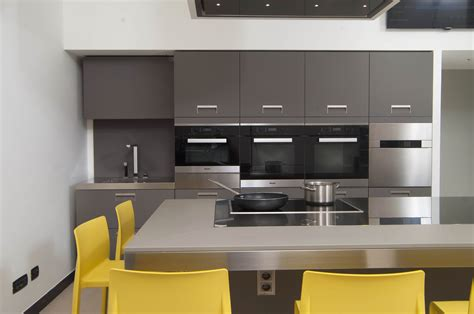 Designed Kitchen Appliances Miele Protagonist Of The Kitchen Of Italian Chef Cooking School Home Appliances World