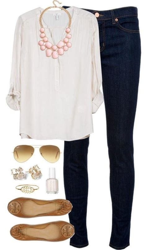 cute outfits for spring older women images pinterest great casual spring outfit if you can t wear pink all