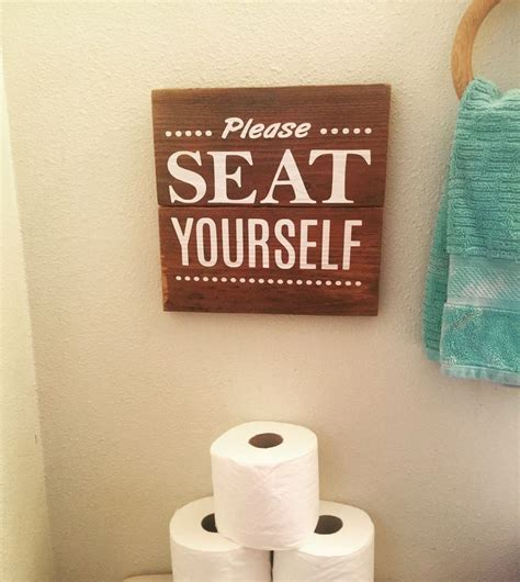 bathroom slogans best 25 bathroom sayings ideas on pinterest