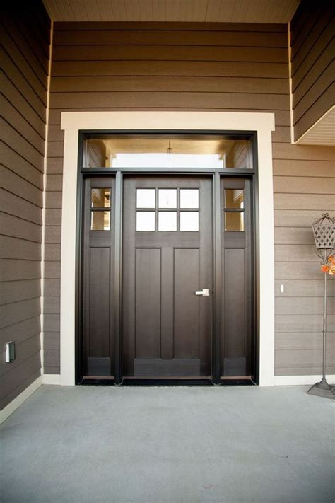 sidelights front door 27 chic front doors to try for your entry shelterness