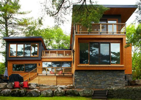 kotak house no 2 maison bois et contemporaine lake residence