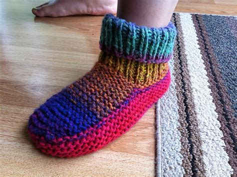 knitted slipper patterns 33 best knitted slippers images on knit