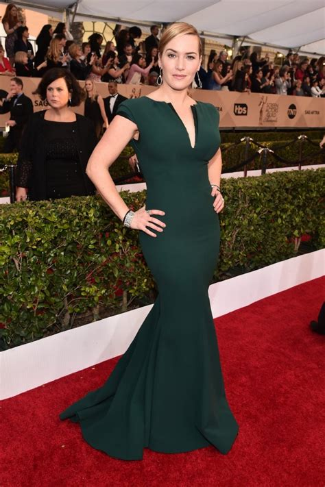 2016 screen actors guild awards red carpet a high fashion sag awards 2016 kate winslet sofia vergara priyanka