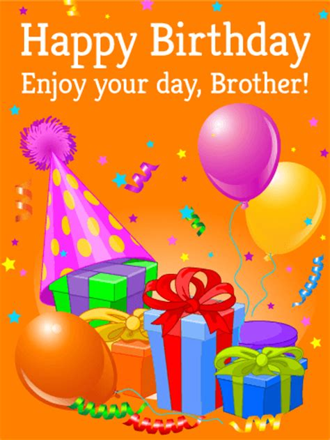 happy birthday brother simple greeting card happy birthday pictures images pics