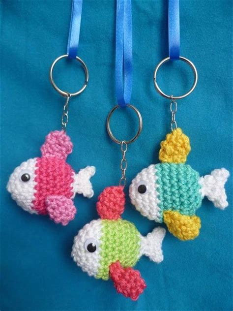 crochet keychain 62 easy handmade crochet pattern keychains diy to make
