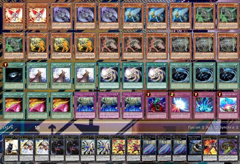 yugioh deck liste artifact deck decks ygopro forum