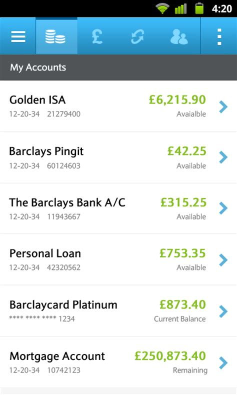 bank account app barclays mobile banking android apps on play