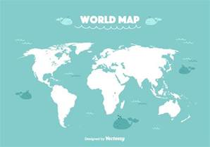 World Map Picture by Funny World Map Vector Download Free Vector Art Stock