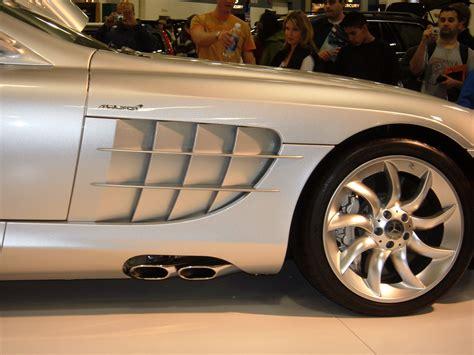 Dunstabzugshaube Seitlicher Abzug by File 2005 Silver Mercedes Slr Passenger Side Exhaust Jpg