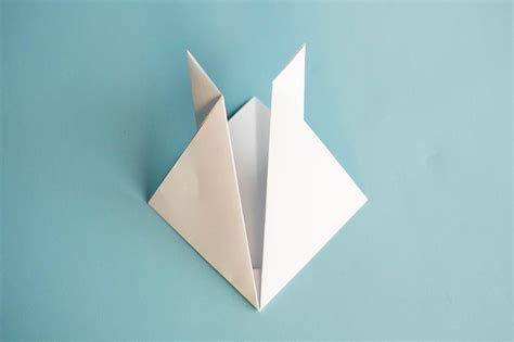 Simple Origami Bunny - easy origami rabbit all for the boys