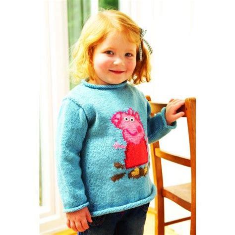 pattern for peppa pig jumper peppa pig sweater knitting pattern knitting patterns