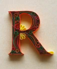quilling on paper quilling quilling letters