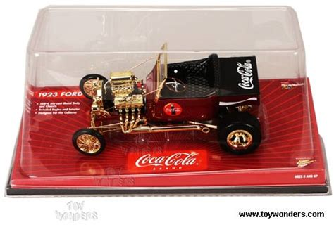 1923 T Johnny Lightning Rods Die Cast Authentic Replicas 1923 cola ford t coke delivery by rc2 johnny