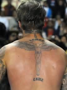 beckham tattoo kinder auf schlimmer und ewig die liebes tattoos der stars