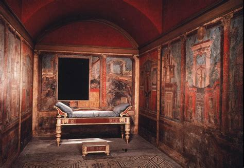 roman bedroom cubiculum a roman bedroom or small room constructed in the