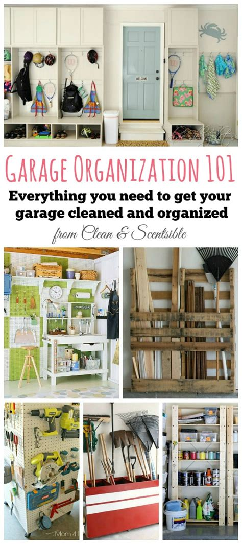 Garage Organization List How To Organize Your Garage Clean And Scentsible