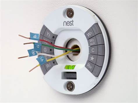 nest wireless thermostat wiring diagram nest thermostat