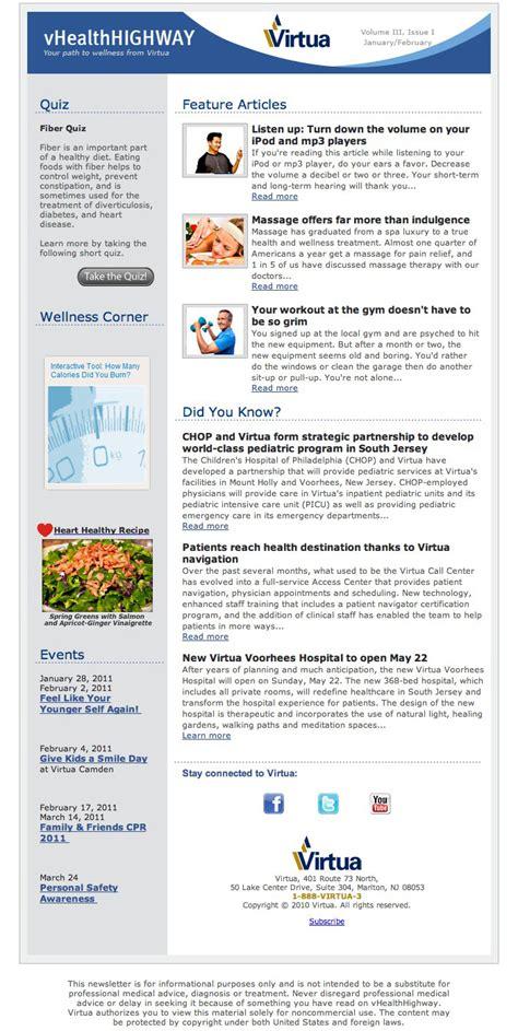 fulcrumtech s newsletter design wins web health awards bronze